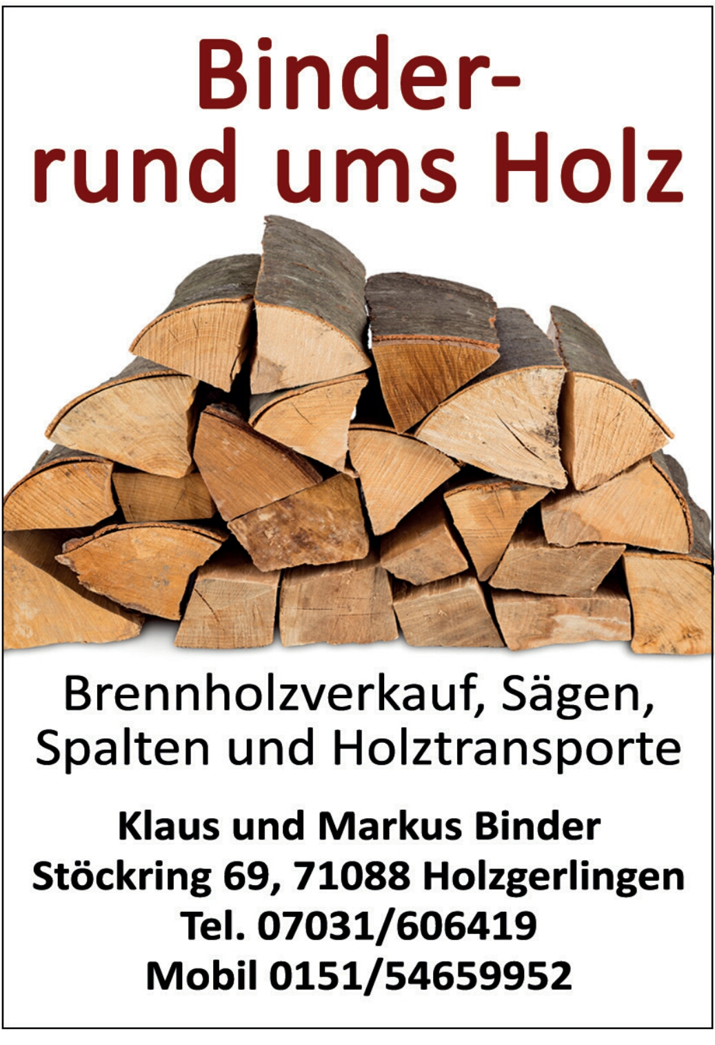 Super Angebot: Brennholz Buche Hartholz - 71088 Holzgerlingen - 1 m³ NF39